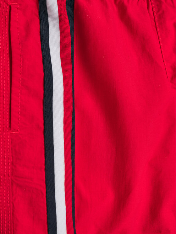 TOMMY HILFIGER TOMMY HILFIGER Badeshorts Medium Drawstring UB0UB00282 M Rot Regular Fit