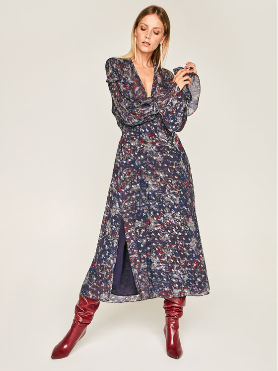 IRO Kasdieninė suknelė Kage AN101 Tamsiai mėlyna Regular Fit
