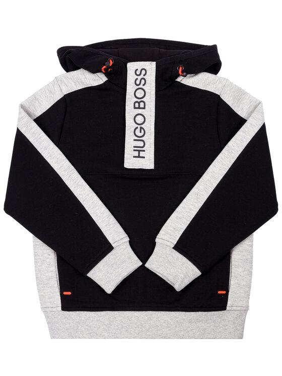 Boss Boss Sweatshirt J25E19 D Schwarz Regular Fit