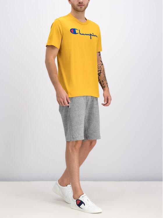 Champion Champion T-Shirt 210972 Žlutá Regular Fit