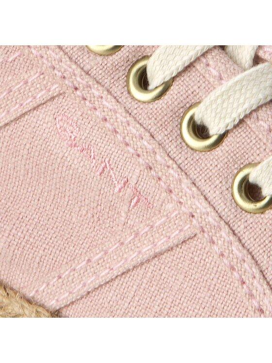 Gant Gant Espadryle Zoe 14538643 Różowy