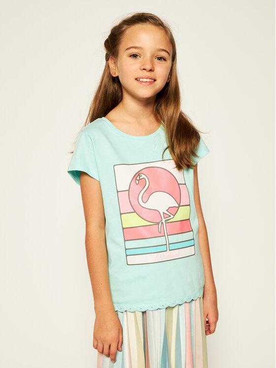 Billieblush Marškinėliai U15724 Mėlyna Regular Fit