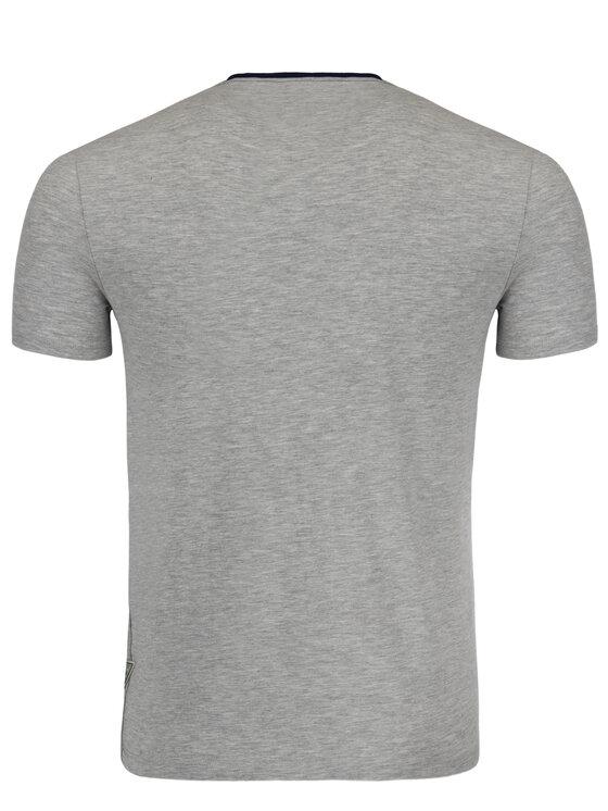 Guess Guess Marškinėliai M92I24 J1300 Pilka Super Slim Fit