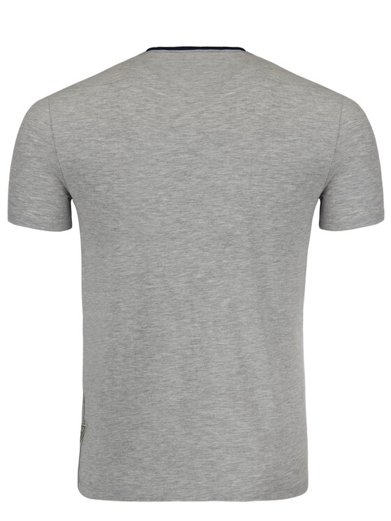 Guess Guess T-Shirt M92I24 J1300 Grau Super Slim Fit
