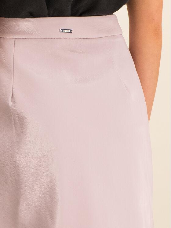 Guess Guess Trapéz szoknya Halah W01D20 WCKC0 Rózsaszín Regular Fit