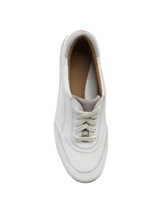 Clarks Clarks Обувки Fashion Glitz 203580314 Бял