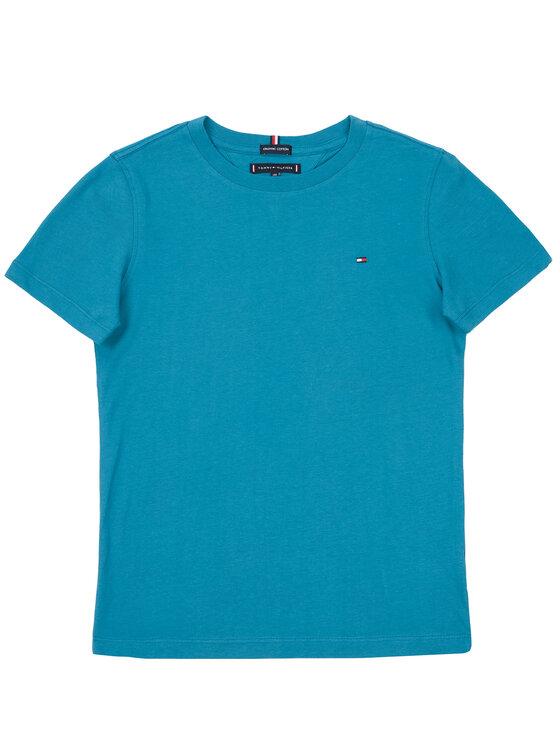 Tommy Hilfiger Tommy Hilfiger T-Shirt KB0KB05013 D Blau Regular Fit
