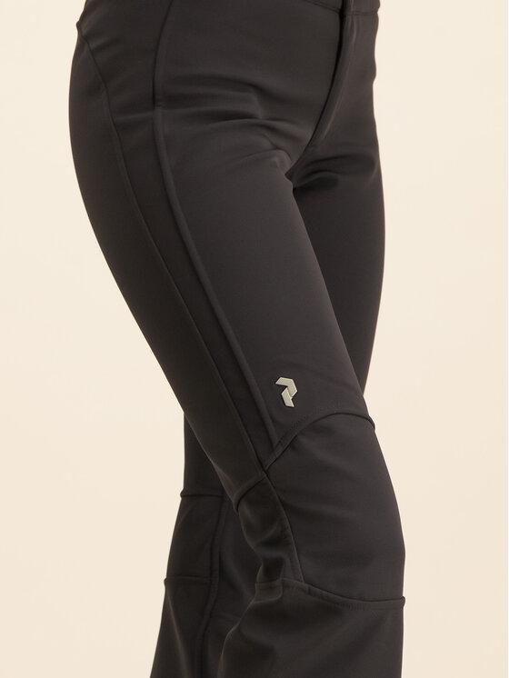 Peak Performance Peak Performance Spodnie narciarskie Str G50169016 Czarny Slim Fit