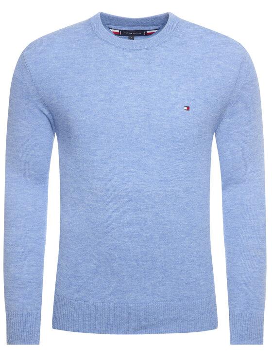 TOMMY HILFIGER TOMMY HILFIGER Sweter MW0MW11679 Niebieski Regular Fit