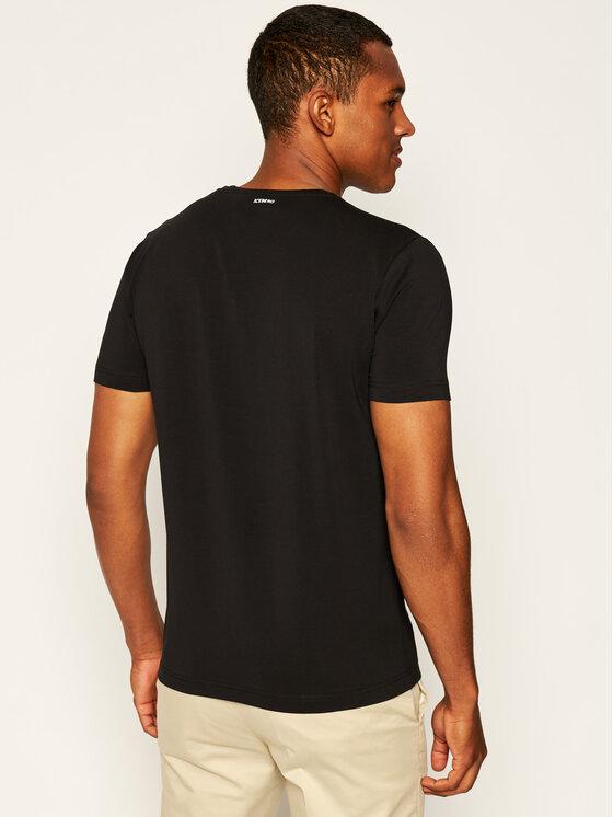 Iceberg Iceberg T-Shirt 20EI1P0F01D6309 Μαύρο Regular Fit