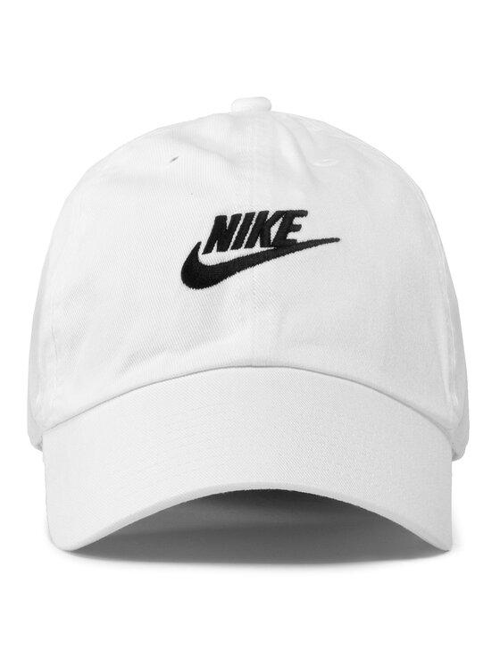 Nike Nike Czapka z daszkiem 913011 100 Biały