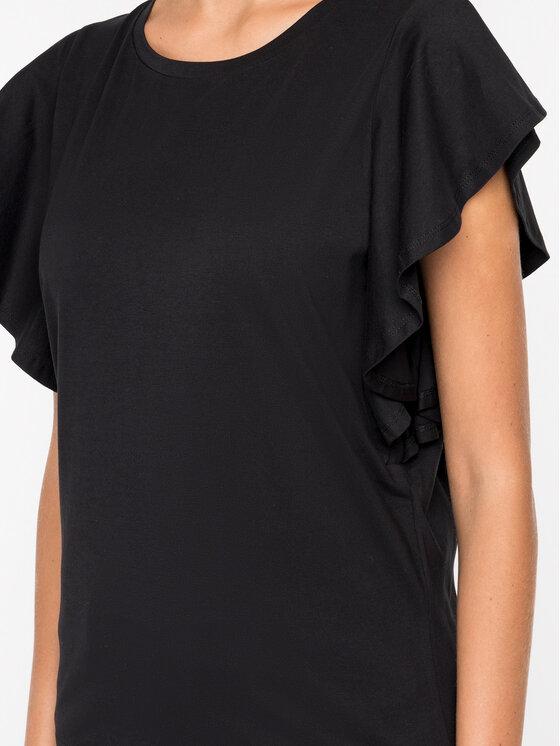 Marella Marella T-Shirt 39710792 Černá Straight Fit