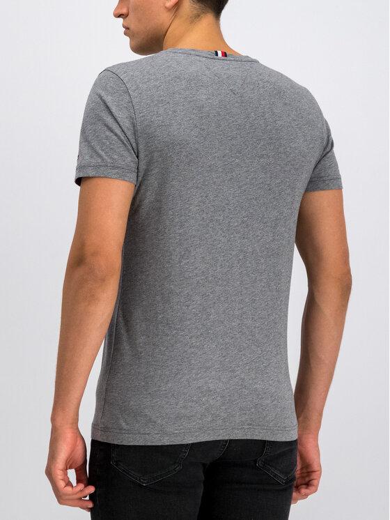 TOMMY HILFIGER TOMMY HILFIGER T-shirt Corp Underline MW0MW11794 Grigio Regular Fit