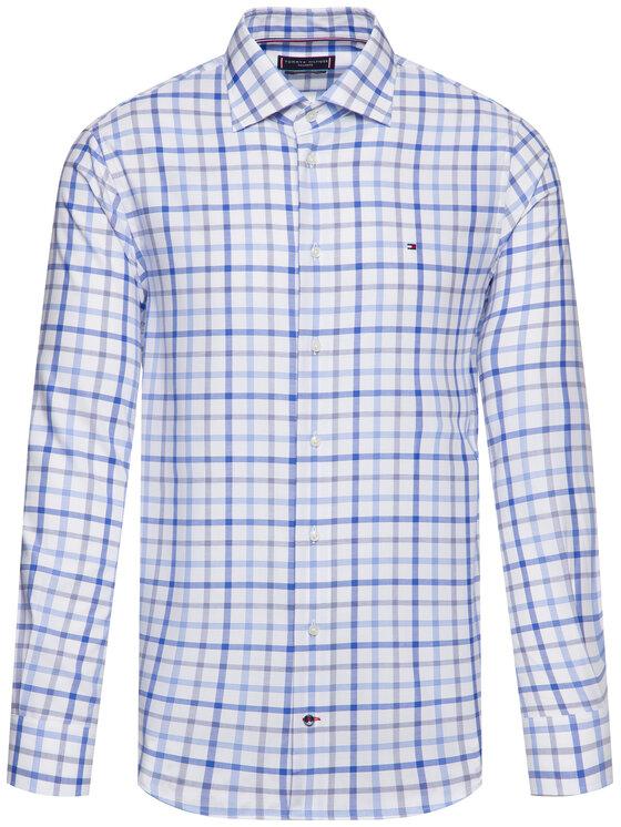 Tommy Hilfiger Tailored Tommy Hilfiger Tailored Риза Check Classic TT0TT06165 Син Regular Fit