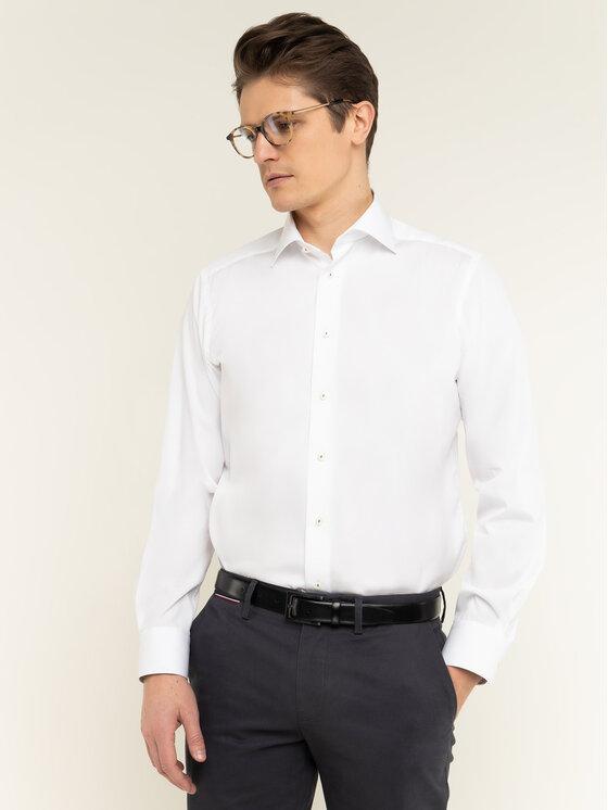 Eton Marškiniai 100000534 Balta Regular Fit