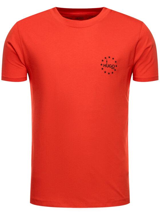 Hugo Hugo T-shirt Dauber 50421646 Rouge Regular Fit