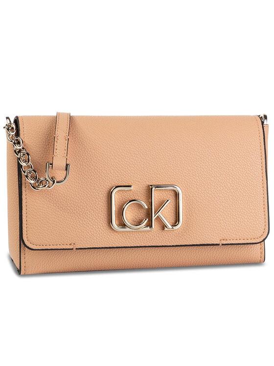 Calvin Klein Calvin Klein Torebka Ck Signature Flap Xbody K60K606050 Różowy