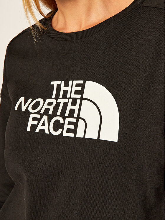 The North Face The North Face Bluza Drew Peak Crew NF0A3S4GJK31 Czarny Regular Fit