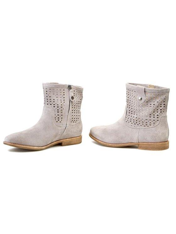 Geox Geox Členková obuv D Elixir C D52C7C 00022 C1006 Sivá