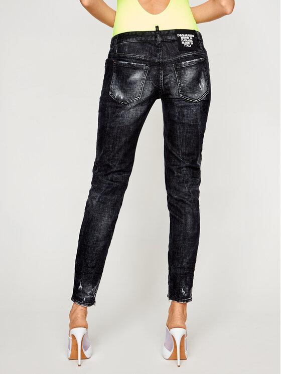 Dsquared2 Dsquared2 Skinny Fit džínsy S75LB0264 Čierna Skinny Fit