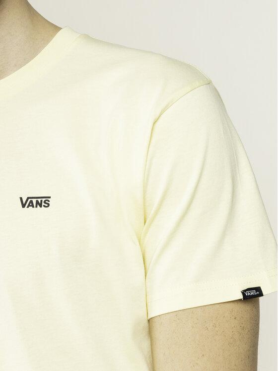 Vans Vans T-shirt Left Chest Logo VN0A3CZEYMB1 Giallo Classic Fit