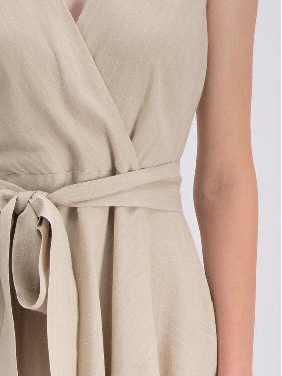 DKNY DKNY Лятна рокля P9CB6ATV Бежов Regular Fit
