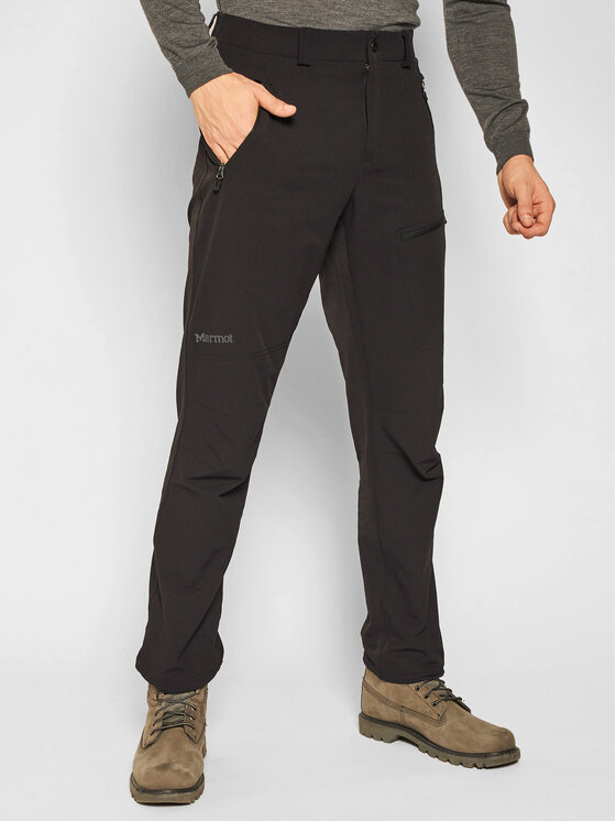 Marmot Outdoor kelnės 81910 Juoda Regular Fit