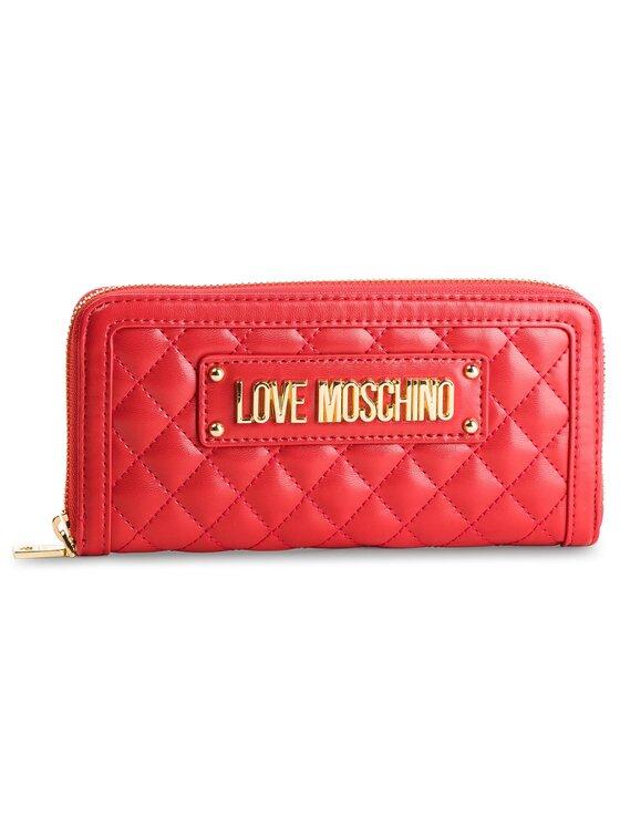 LOVE MOSCHINO LOVE MOSCHINO Голям дамски портфейл JC5612PP17LA0500 Червен