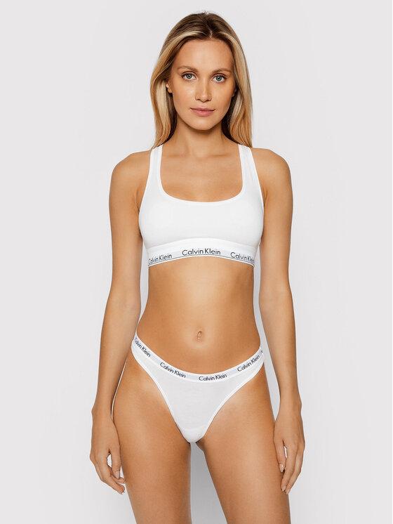 Calvin Klein Underwear Calvin Klein Underwear Kalhotky string 0000D1617E Bílá