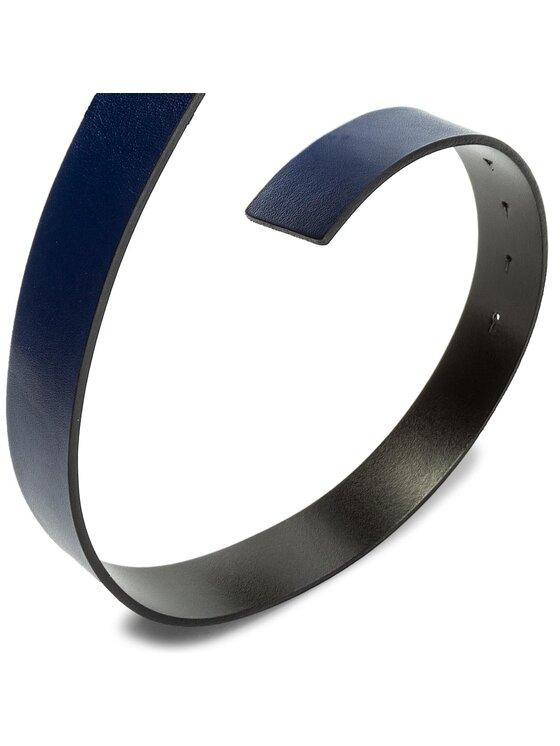 Calvin Klein Calvin Klein Dámsky opasok Ck Rev Belt Giftbox K60K604150 75 Tmavomodrá
