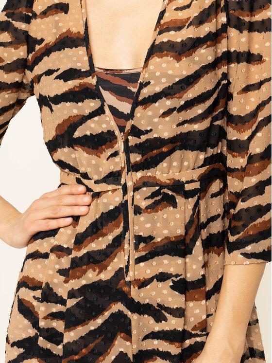 Liu Jo Liu Jo Sukienka codzienna C69024 T5712 Beżowy Regular Fit