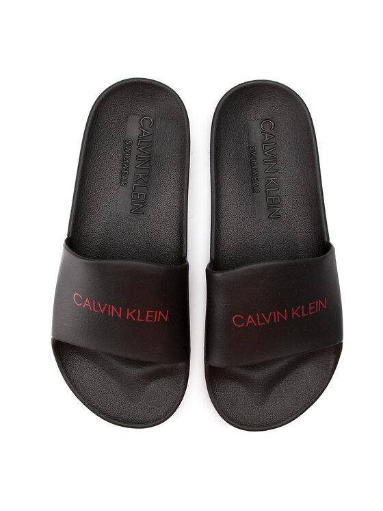 Calvin Klein Calvin Klein Чехли Slide KM0KM00375 Черен