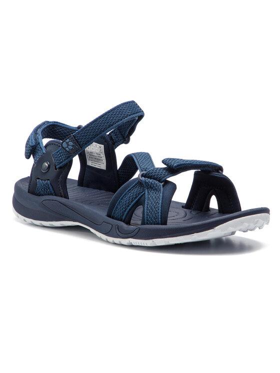 Jack Wolfskin Basutės Lakewood Ride Sandal W 4019041 Tamsiai mėlyna
