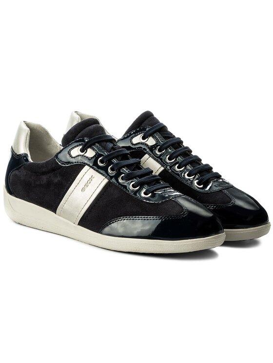 Geox Geox Sneakersy D Myria A D7268A 021HH C4021 Tmavomodrá