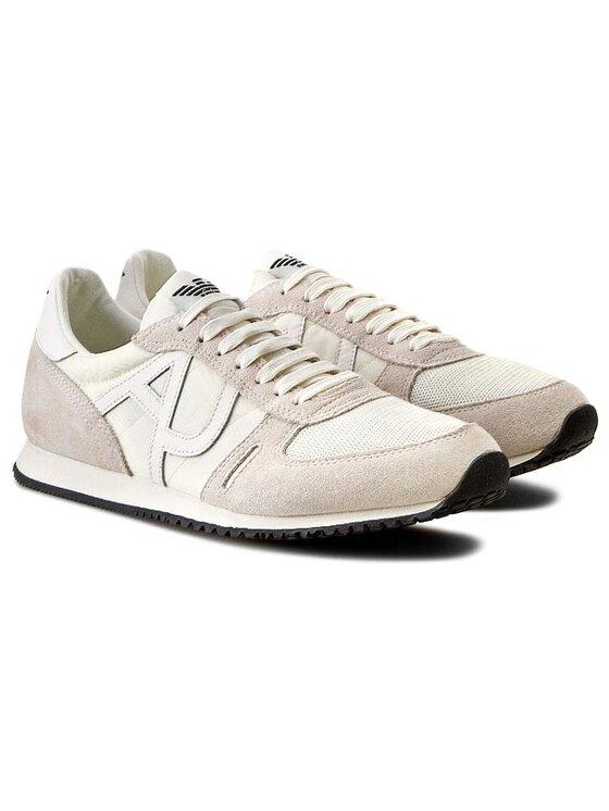 Armani Jeans Armani Jeans Сникърси A6524 26 1P Бял