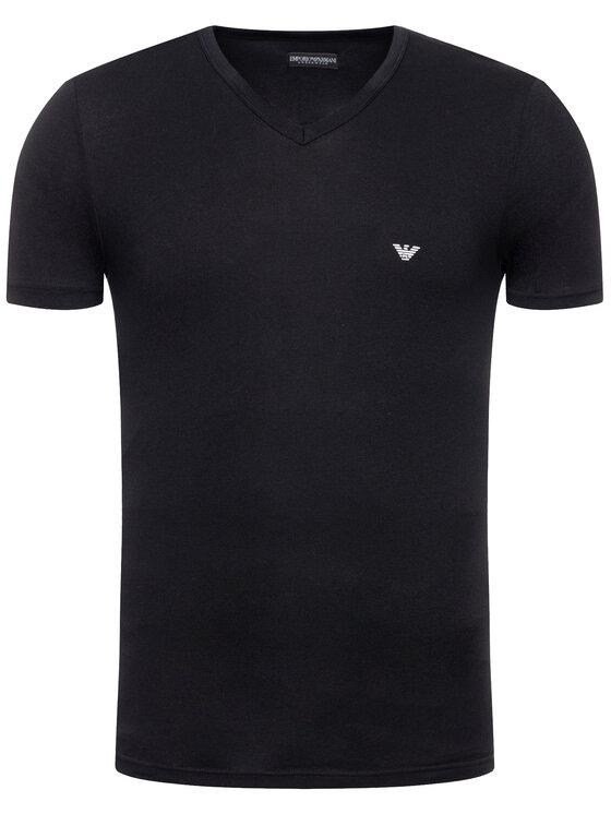 Emporio Armani Underwear Emporio Armani Underwear T-Shirt 110810 CC735 00020 Černá Slim Fit