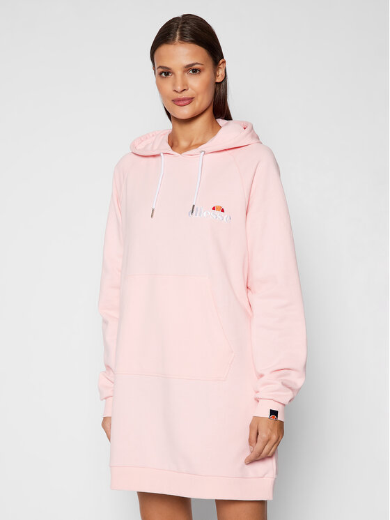 Ellesse Ellesse Džemper haljina Honey SGK13289 Ružičasta Relaxed Fit