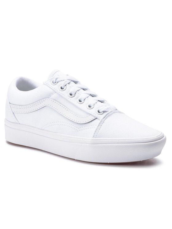 Vans Vans Sneakers aus Stoff Comfycush Old S VN0A3WMAVNG1 Weiß