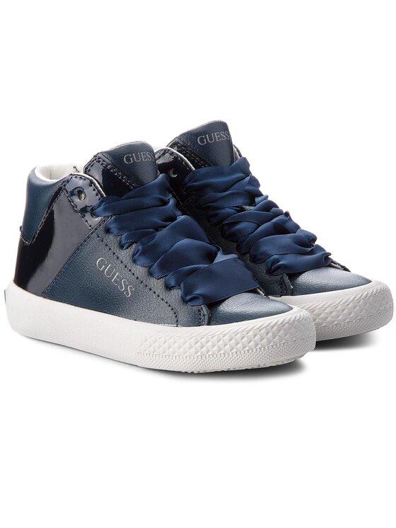 Guess Guess Sneakersy FIMRT3 LEA12 Tmavomodrá