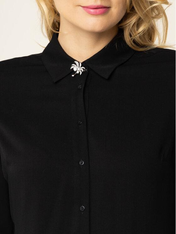 Guess Guess Риза Ls Lima W01H83 WC9Z0 Черен Regular Fit