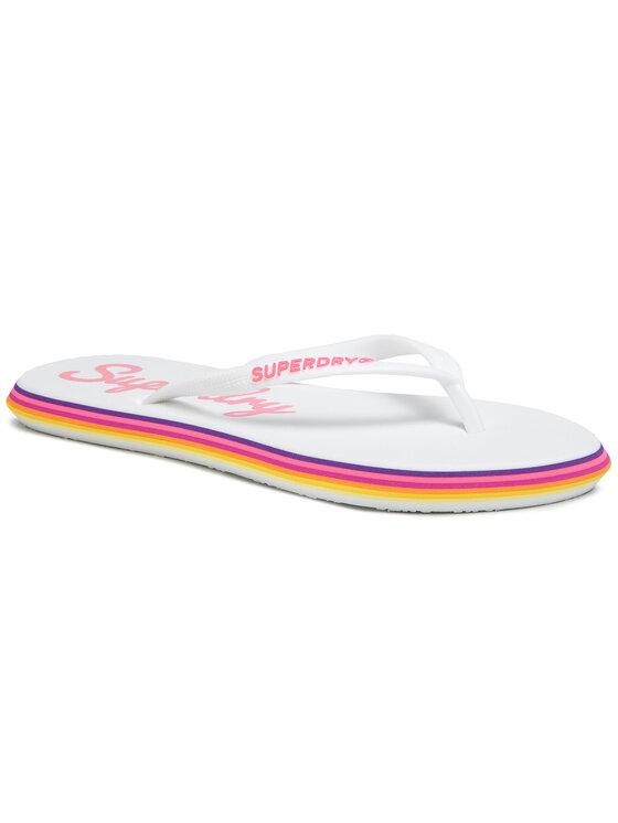 Superdry Superdry Japonki Neon Rainbow Sleek WF310010A Biały