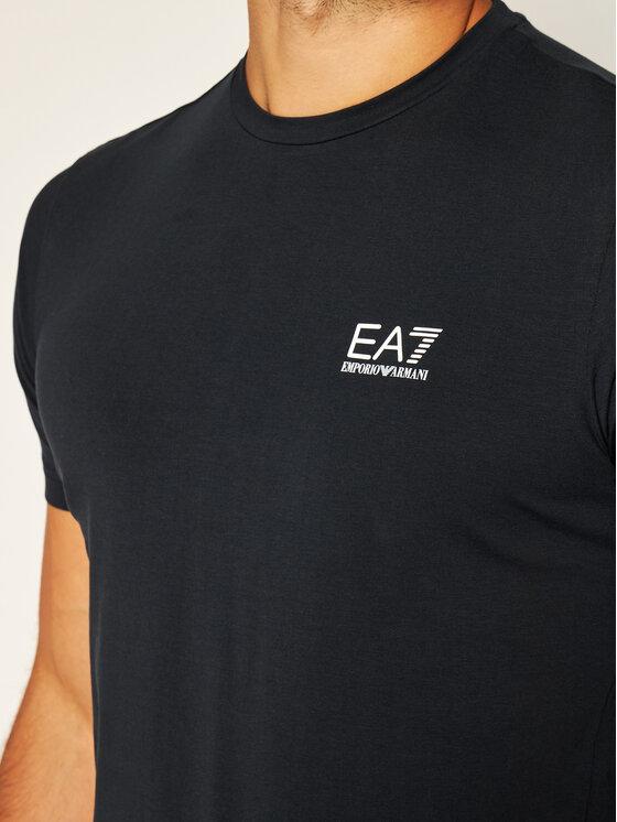 EA7 Emporio Armani EA7 Emporio Armani Tričko 8NPT52 PJM5Z 1578 Tmavomodrá Regular Fit