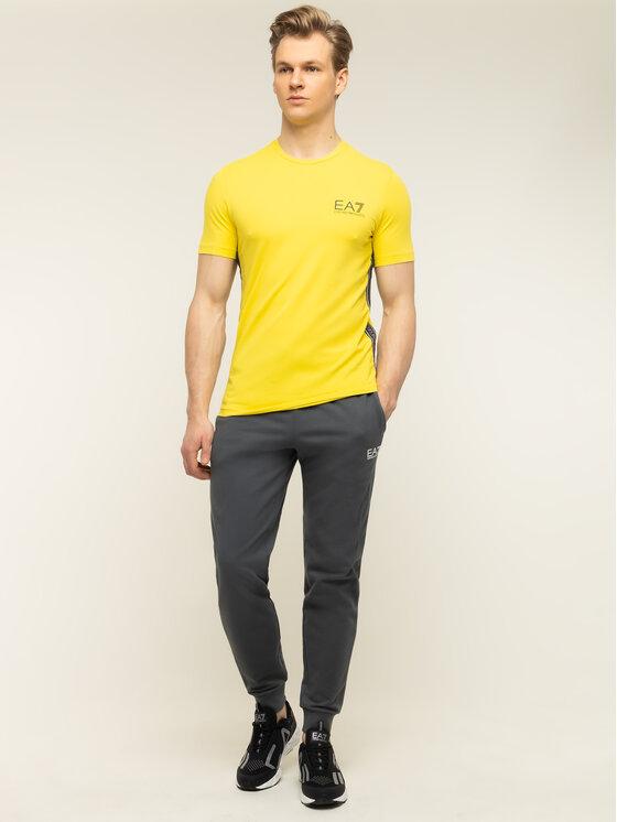 EA7 Emporio Armani EA7 Emporio Armani T-shirt 3HPT07 PJ03Z 1632 Giallo Slim Fit