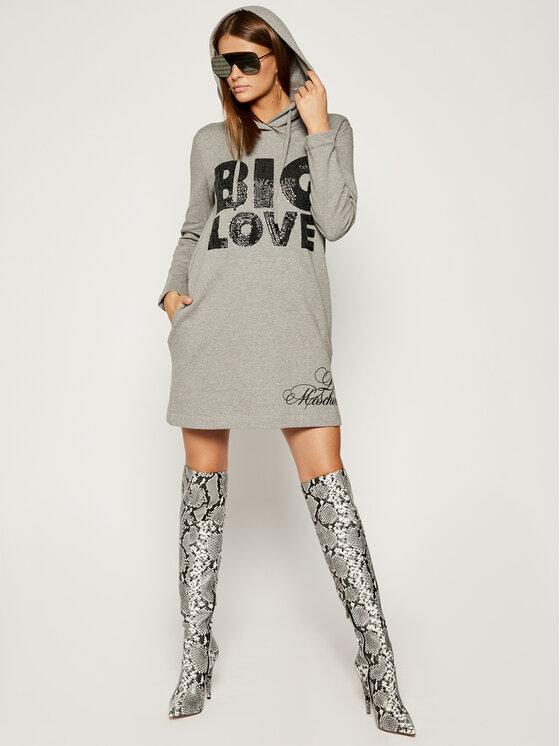 LOVE MOSCHINO LOVE MOSCHINO Úpletové šaty W5B1901E2117 Regular Fit