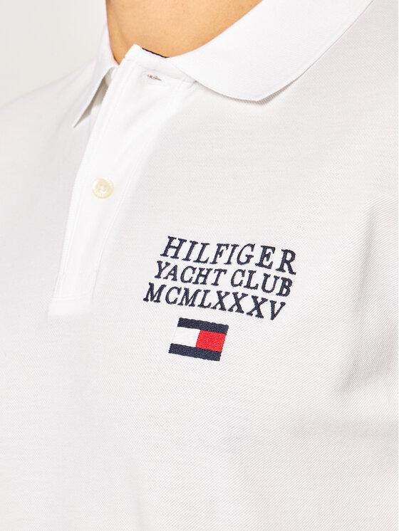 TOMMY HILFIGER TOMMY HILFIGER Polo Artwork MW0MW13106 Blanc Regular Fit