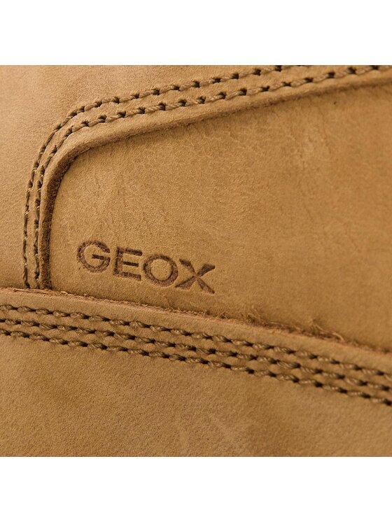 Geox Geox Trzewiki U Hallson A U845UA 032ME C2P6T Żółty