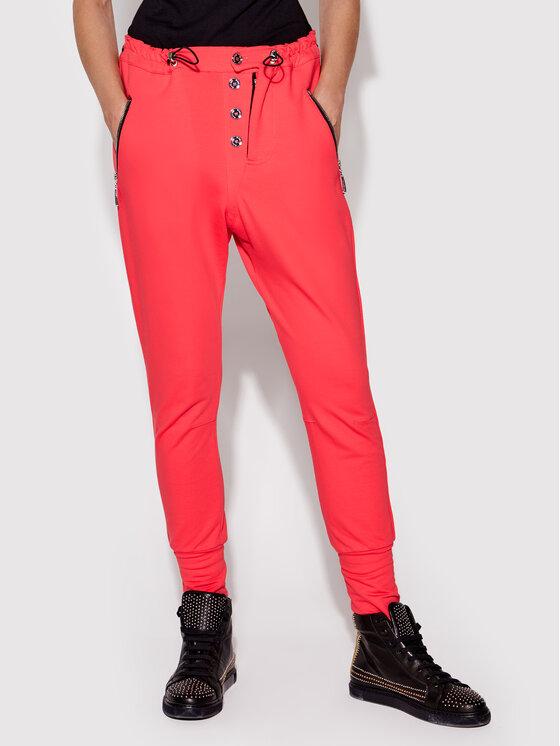 Rage Age Rage Age Spodnie dresowe Dione2 Różowy Slim Fit