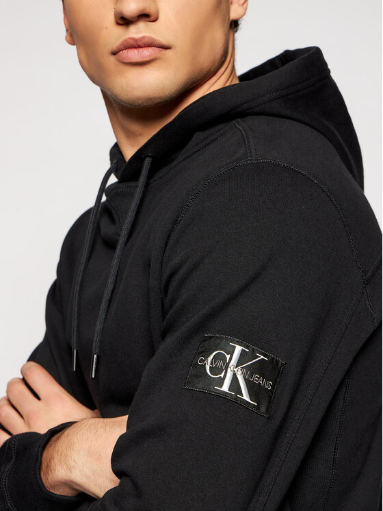 Calvin Klein Jeans Calvin Klein Jeans Bluză J30J314036 Negru Regular Fit