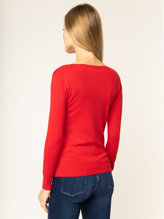 Guess Guess Maglione Megan W01R93 Z2760 Rosso Regular Fit