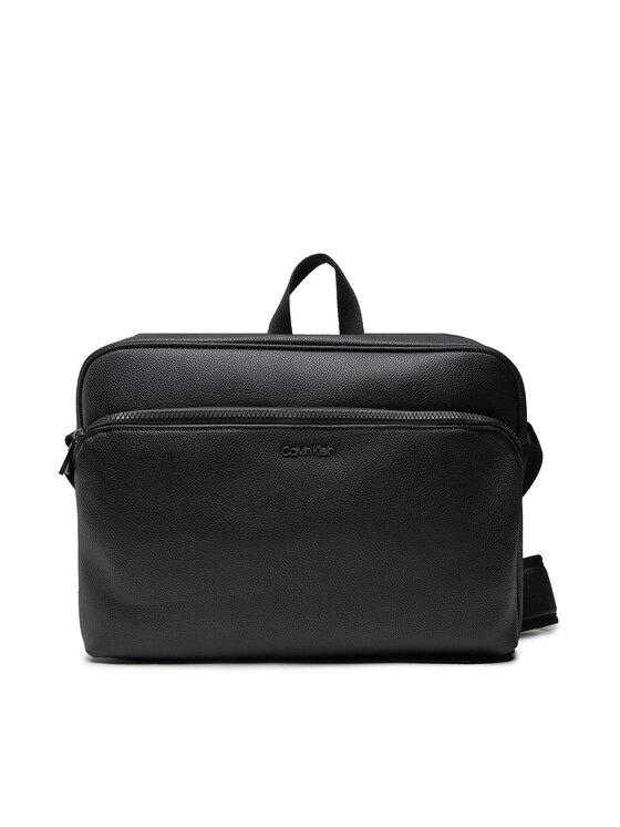 Calvin Klein Calvin Klein Torba na laptopa Messenger K50K507152 Czarny